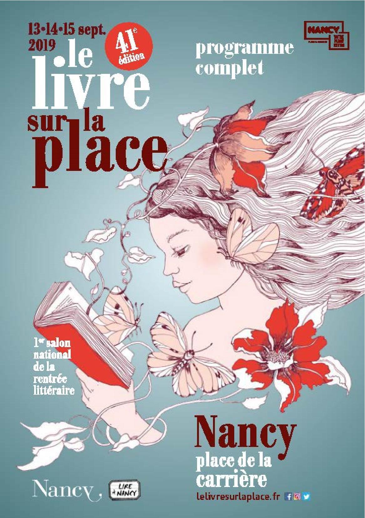 Le Livre sur la Place Nancy 2019