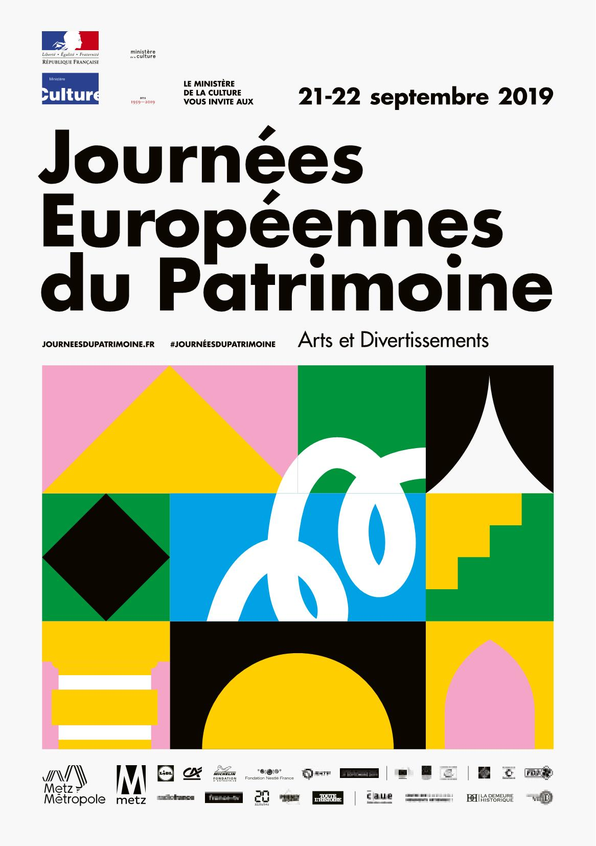 Les Journées Européennes du Patrimoine Metz 2019