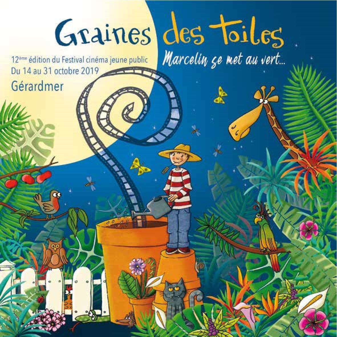 Programmes Festival Graines des Toiles 2019 Gérardmer