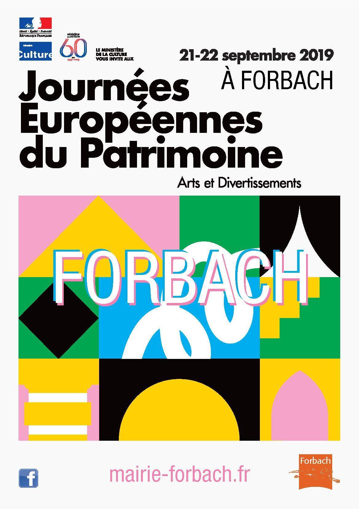 Journées du Patrimoine Forbach 2019