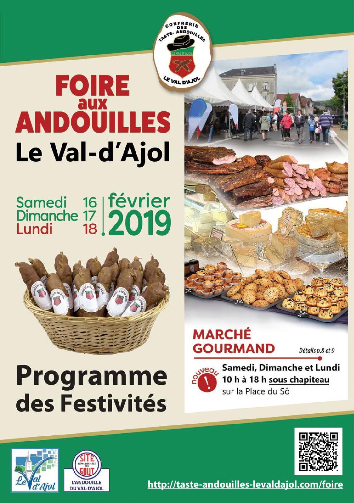 Programme 2019 Foire aux Andouilles