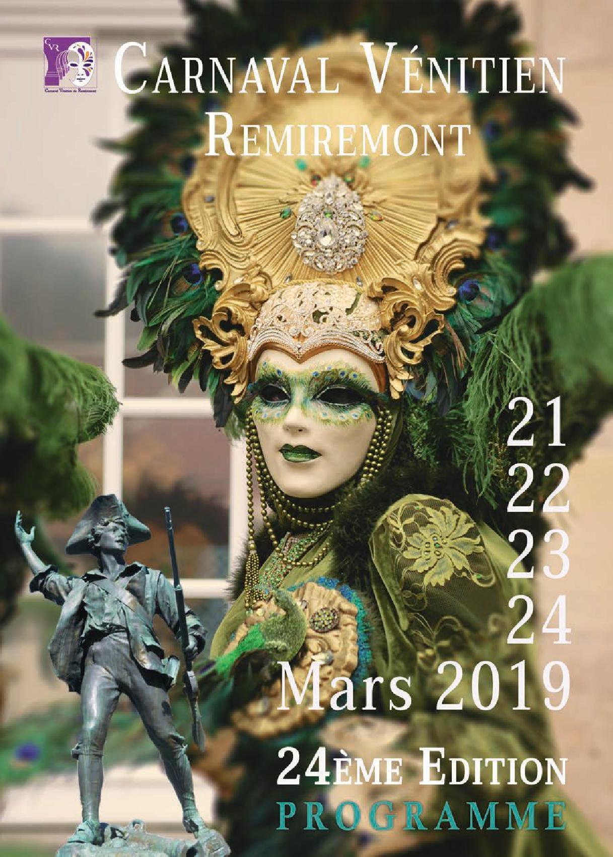 Carnaval Vénitien de Remiremont 2019
