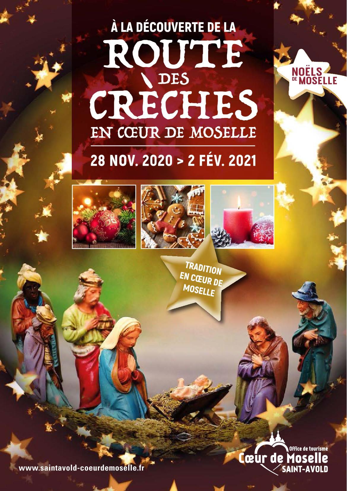 À la découverte de la Route des Crèches au Coeur de Moselle 28 Nov. 2020 au 2 Fév. 2021