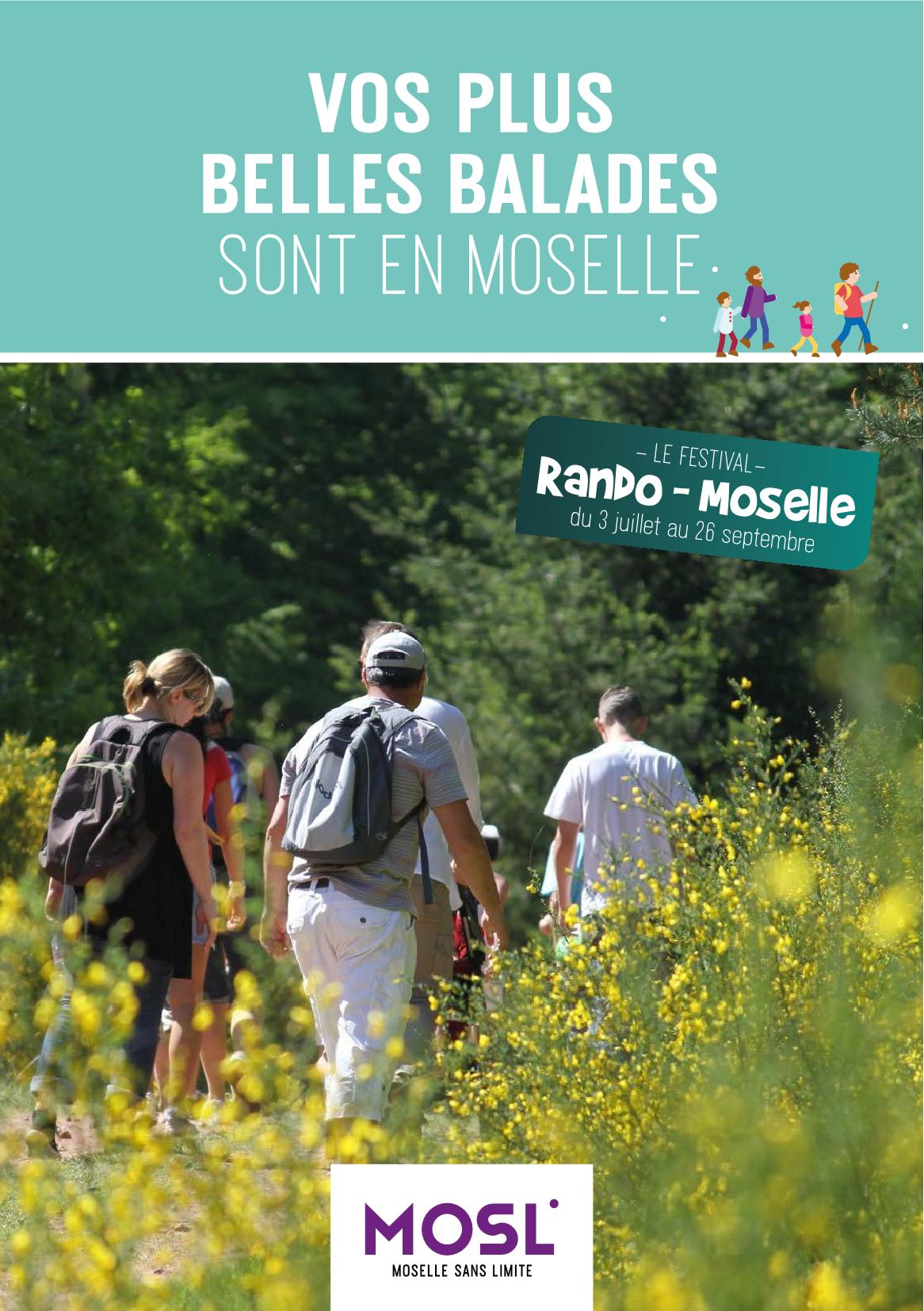 Rando-Moselle Le Festival des Randonnées 2021