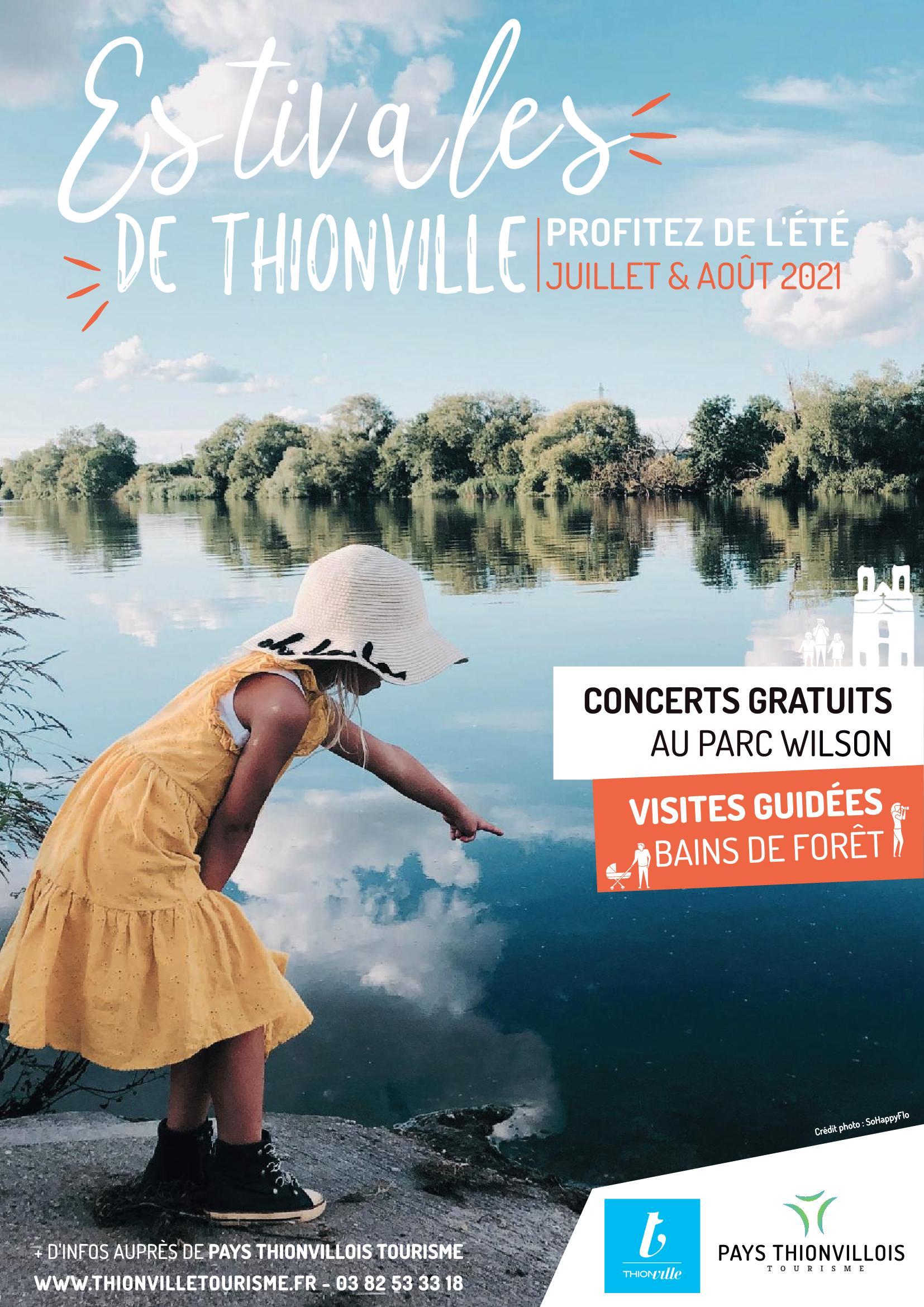 Les estivales de Thionville 2021 Concerts gratuits et visites guidées