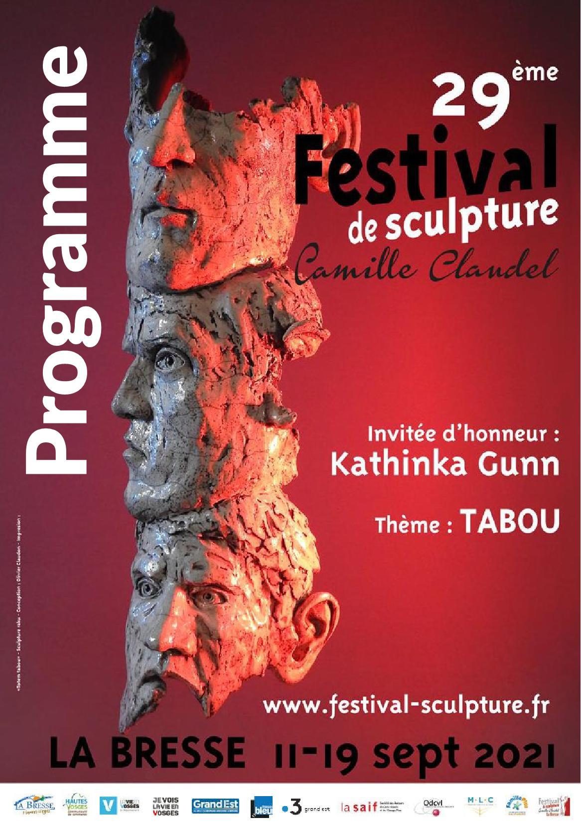Festival de Sculpture Camille Claudel à La Bresse 2021 Expositions Ateliers Animations & Marché d'Artisanat d'Art