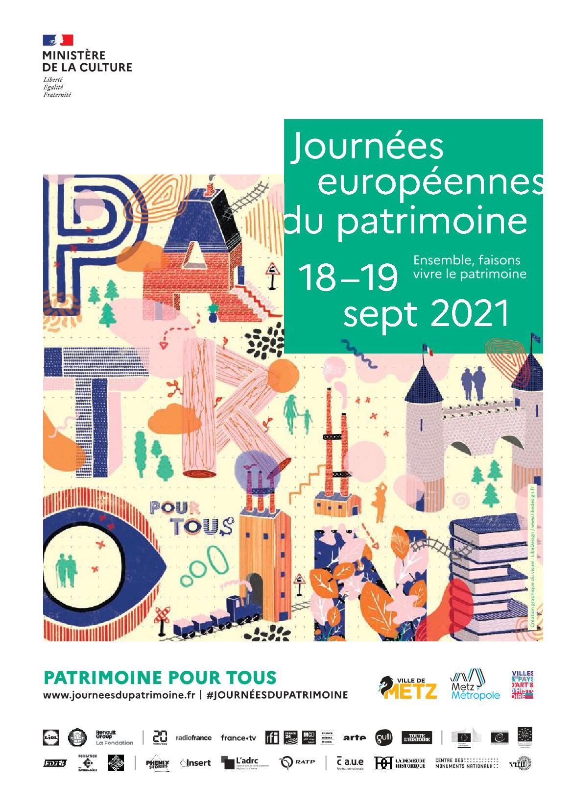 Journées du Patrimoine à Metz 2021