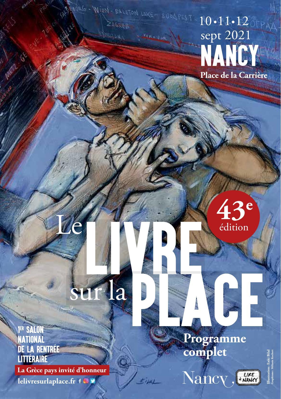 Le Livre sur la Place 2021 Nancy