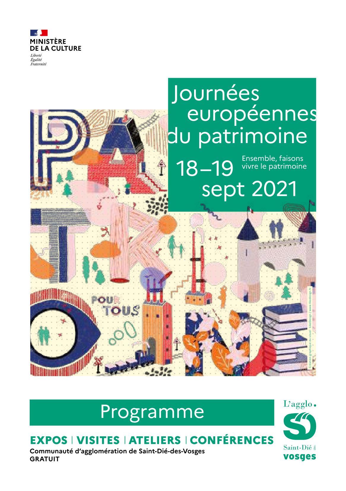 Journées du Patrimoine 2021 Saint-Dié-des-Vosges
