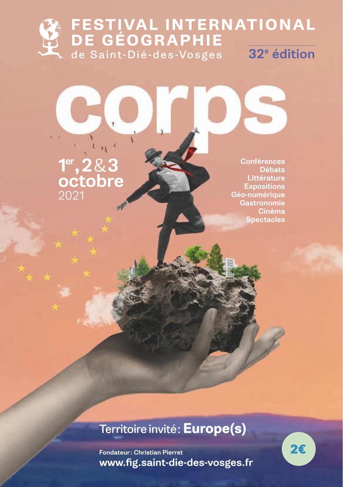 FIG Saint-Dié Festival International de Géographie 2021 Expositions, Salons, Conférences, Tables rondes, Rencontres...